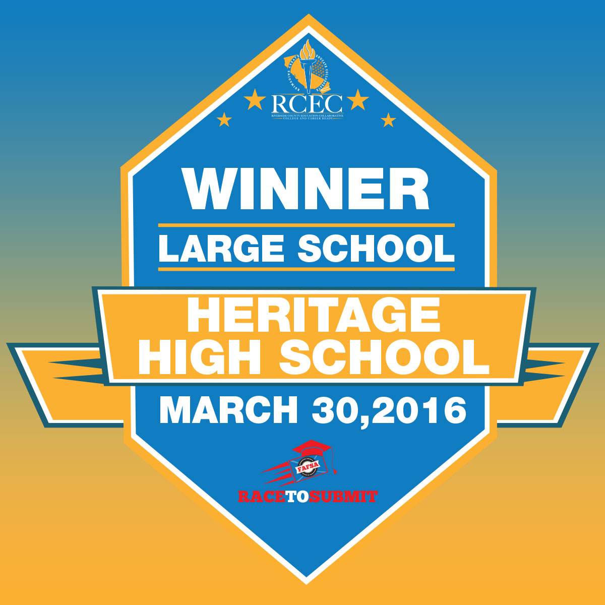Large School Winner
